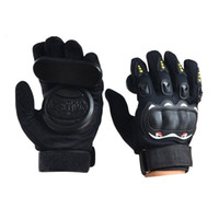 1 Pair Of Skateboard Gloves Longboard Friction Gloves With P...