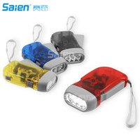 Immedia- Light Hand Crank Flashlight of Immediate Light for E...