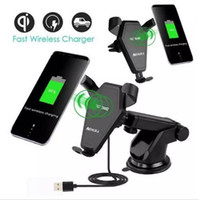 Fast Charger Qi Wireless Car Charger Charging Pad for iPhone...