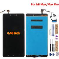 핸드폰 패널 Xiaomi MI Max 1 2 3 LCD 디스플레이 + 터치 스크린 100 % 디지타이저 조립품 교체 부속품 프로 프라임