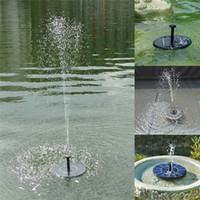 Güneş Çeşmesi, UHBGT 1.4 W Açık Güneş Enerjili Kuş Banyosu Çeşmesi Pompası Su Çeşmesi Paneli için Balık Tankı, bahçe, havuz, Gölet, Akvaryum