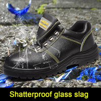 Labor insurance shoes men' s anti- smashing anti- piercing...
