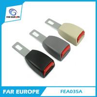 24.5 мм язык универсальный жесткий ремень безопасности расширения 2 точки ремня безопасности автомобиля ремень блокировки пряжки черный регулируемый расширитель FEA035A