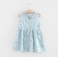 Baby Girls Suspender Dresses Big Girls Floral Printed Prince...