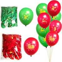 Christmas Latex Balloons Wholesale Christmas Decorations Wed...