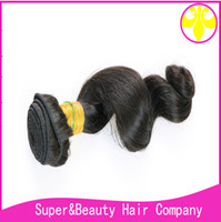 100% virgin human hair brazil loose wave extentions