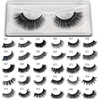 81 Styles 100% 3D Real Mink False Eyelashes Handmade False L...