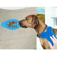Dog Bath Buddy Pet Lick Pad The Ultimate Bath Toy Silicone F...