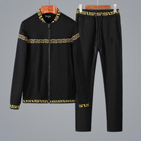 Autumn Men Tracksuit Casual Hooded Men' s Sportwear Trac...