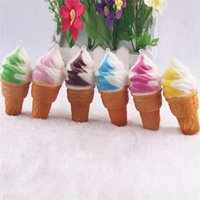 Squishy Ice Cream Kawaii Squishies Slow Rising Soft Squeeze ...
