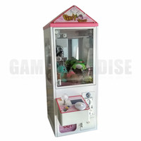Mini Metal Case bartop familia / negocio Garra Crane Machine Toy Candy Cather para la venta