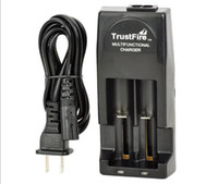 Original Fire TR001 TR001 Dual Ladegerät multifunktionale Dual Ladegerät für 18650 18500 17670 16340 14500 10440 16430 Batterien