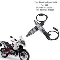 دراجة نارية الجبهة بدوره اشارات ضوء التحول أضواء led المؤشر الوامض المتعري لبي ام دبليو R1200GS مغامرة R800GS F800R K1200R