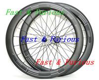 Livraison Gratuite !! HED Carbone Roues 50mm Clincher Vélo De Route Carbone Roue 700C 25mm Largeur Vélo De Route
