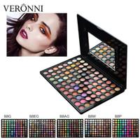 Neueste 88 Farbe Lidschatten-Palette Matte Glitter Lidschatten Diamant Shimmer Eye Primer Warme Farbe Lidschatten Frauen Geschenk