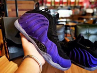 2018 New Penny Hardaway Foams Eggplant Purple Copper Mens Sp...