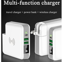 Qi Wireless Charger Portable Power Bank 6700Mah Type- C Wall ...