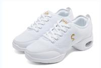 O ENVIO GRATUITO de novas Mulheres Sapatos Esportivos Da Moda sapatos de Lona de Fitness Superior Moderno Jazz Hip Hop Sneakers Sapatos de Dança sapato de lona