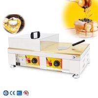 Büyük Boy Bakır Plaka Suffle Makinesi Dorayaki Makinesi Ticari Pancake Maker Pan Popüler Snack Ekipmanları Satılık