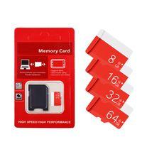 2020 Bestseller Echte Echte Volle Kapazität 2 GB 4 GB 8 GB 16 GB 32 GB 64 GB Klasse 10 TF-Speicher SD-Karte Mit SD-Adapter Kleinpaket