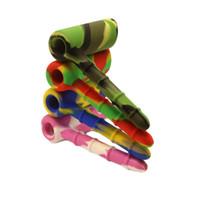 16 цветов антипригарный пищевой Силиконовый молоток барботер перколятор барботер водопровод курение прочный силиконовый табак нефтяные вышки Силиконовый Бонг