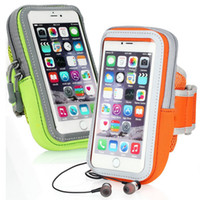 Armband Sports impermeáveis Correndo saco Caso treino Armbands Titular Bolsa para Samsung iphone x 8 7 6 6s mais Célula Bolsa Celular