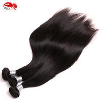 8A перуанский девственница прямые волосы 3 пучки волос ткачество 100% необработанные Богородицы перуанский прямые человеческие волосы Утков
