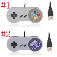 Controlador USB clásico Controladores de PC Gamepad Joypad Joystick Reemplazo para Super Nintendo MINI SFC SNES NES Tablet PC LaWindows OTH843