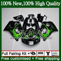 Body GSXR-600 Green لـ SUZUKI SRAD GSXR750 GSXR600 96 97 98 99 00 5HM3 GSX R600 GSXR 600 750 1996 1997 1998 1999 2000 Fairing Bodywork