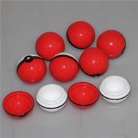 حاوية السيليكون 2 الكرة أيضا بيع الكرة طاحونة الزجاج وعاء عشب حامل الكرتون المنتج Dab تلاعب الأنابيب بونغ