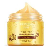 BIOAQUA 24K ORO Crema di burro di karitè Peeling Renewal Mask Baby Foot Skin Smooth Care Cream Maschera per il piede esfoliante in stock
