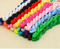 CHEAP!!! 30meters Nylon Chinese Knot Cord for braid Jewelry ...