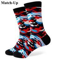 2016 Männer gekämmte Baumwolle Marke Männer Socken, Business Casual Socken, Camouflage Socken, frei für den Versand 360
