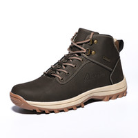 New Hot Style Men Hiking Shoes Winter Outdoor Walking Joggin...