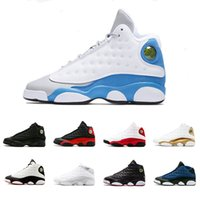 Italy Blue 13 13s mens basketball shoes Love Respect White D...