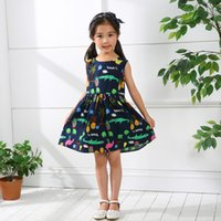 2018 Dress For Girls Cotton Cute Princess Dress Sleeveless B...
