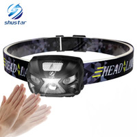 Shustar Rechargeable Body Motion Sensor LED Headlamp 3000Lum...