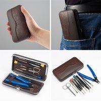 Оригинальный Vapswarm V3 набор инструментов для Vape DIY RDA RBA Building Coil джиг Аллен отвертка ножницы плоскогубцы пинцет кисть сумка DHL