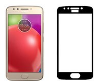 Protecteur d'écran en verre trempé pleine couverture pour LG Stylo 4 Aristo pour Motorola MOTO E4 E4 plus E5 jouer E5 plus avec Oppbag
