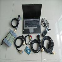Alta qualidade para mb estrela c3 para multiplexer diagnóstico benz com hdd conjunto completo de cabos com 4gb d630 laptop