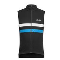 Rapha Racing Equipo Ciclismo Sin mangas Jersey Jersey Chaleco 100% Poliéster Top Calidad Verano Carretera Camisetas HOMME ROPA CICLISMO S21030935