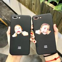 الكورية نمط التوضيح فتاة الاطفال لفون 7 / 8plus iPhoneX الهاتف