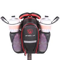 2 Taschen Bike Bag Nylon Wasserdichte Fahrradsatteltasche MTB Rennrad Sitz Hecktasche Flaschenbeutel Fahrrad Zubehör