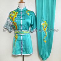 남성 여성 소년 소녀 아이 성인 어린이를위한 중국어 무술 유니폼 쿵후 의류 무술 정장 taolu 복장 의류 루틴 기모노