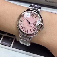 2018 New style fashion women' s watch pink 36mm dial sta...