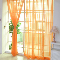 curtain beads 12 Solid Colors Eco- friendly Sheer Voile Tulle...