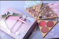 Faced Makeup Set Under the Christmas Tree Contains Two eyesh...