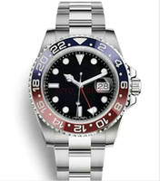 Hot AAA luxury Automatic Mens watch GMT Lum red blue Ceramic...