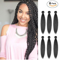 EZ Braid Hair, Pre Stretched Braiding Hair Synthetic Fiber C...