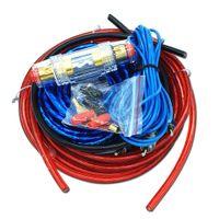 1 Набор автомобилей Усилитель мощности автомобиля Автомобильный динамик НЧ-кабели Автомобильный усилитель мощности Audio Line + костюм питания